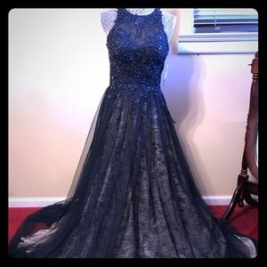 Beautiful navy gown
